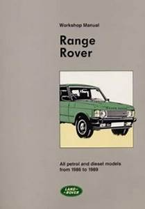 The Range Rover Workshop Manual 1986