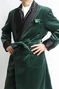 robe de chambre classique pour homme en velours39 100 With robe de chambre homme coton