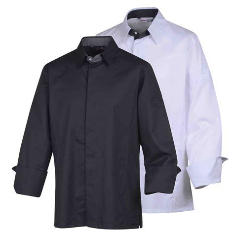 chemise de cuisine veste de cuisine col chemise temi vetementpro com
