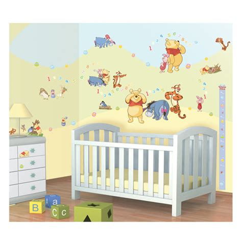 disney winnie the pooh room decor kit 79 piece