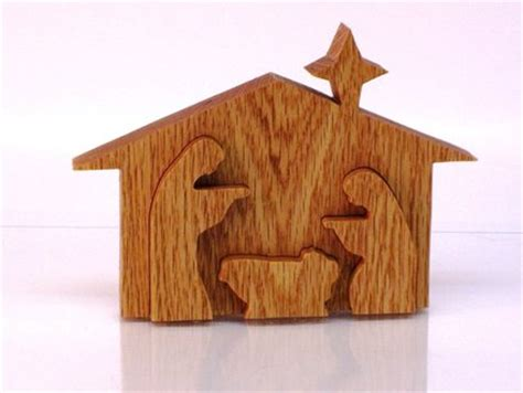 wooden woodworking projects nativity  plans