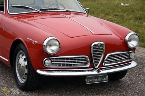 Alfa Romeo Giulietta Sprint For Sale by Classic 1958 Alfa Romeo Giulietta Sprint Veloce For Sale