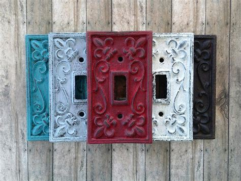 Shabby Chic Light Switch Plates Jane