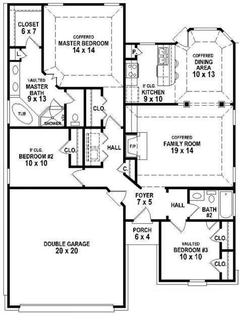house plans with and bathrooms 3 bedroom 3 bath house plans home planning ideas 2018