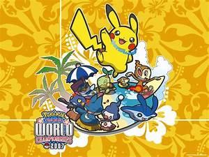 pokemon world championship 2007 wallpaper