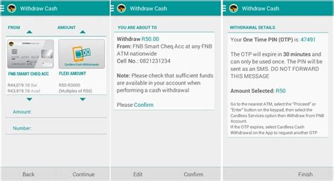 Cash app is a well known digital payment app that facilitates online money transfers without any requirement of cash in hand. FNB cardless cash withdrawal launched