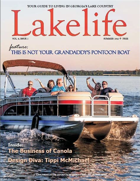 Used Pontoon Boats Lake Oconee by Living The Lake With Lakelife Magazine Lake Oconee