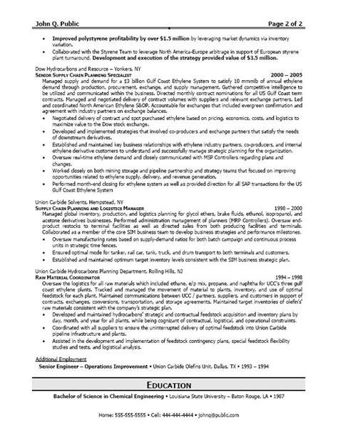 Transportation Manager Resume by Career Logistics Resume Sle Writing Resume Sle Writing Resume Sle