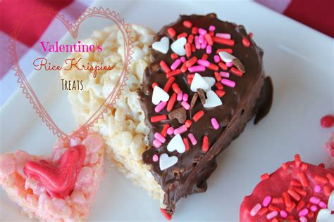 valentines rice krispies treats simply  mommy