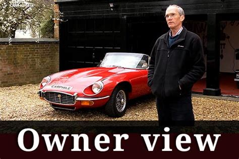 Jaguar land rover limited is constantly seeking ways to improve the specification, design and production of its vehicles, parts and accessories and alterations take place continually, and we reserve the right to change without notice. Jaguar E-Type series 3 owner's view | Sports Cars | Carphile