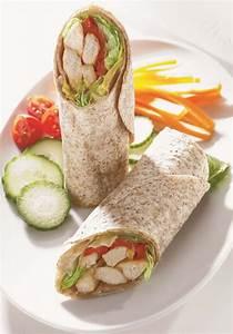 Recette Avec Tortillas Wraps : recette nutrisimple wraps au poulet wrap rouleaux tortillas en 2019 food tortilla wraps ~ Melissatoandfro.com Idées de Décoration