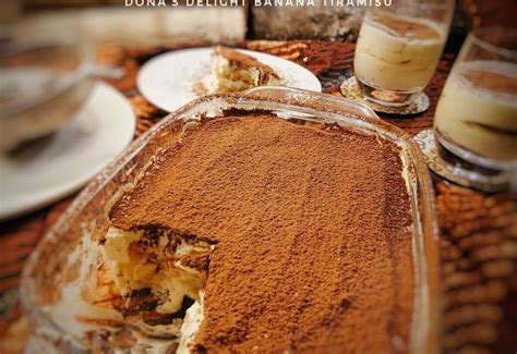 Tanpa oven ,tanpa kukus ! Banana Tiramisu | Dona's Delight