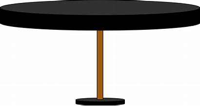 Clipart Round Transparent Desk Clear Tablecloth Tables