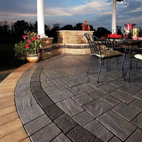 cost of unilock pavers 20 a square foot installed unilock richcliff 174 call us to