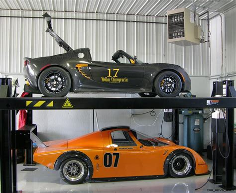 garage car lift how to stay safe when working on your car