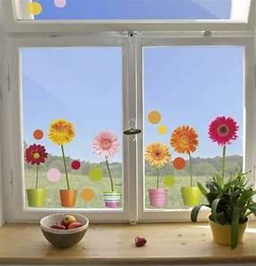 Fensterdeko Für Große Fenster : 40 ideen f r sch ne kinderzimmer fensterdeko ~ Michelbontemps.com Haus und Dekorationen