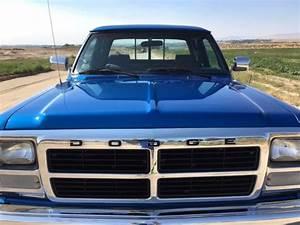 1992 Dodge Ram 2500 Cummins Turbo Diesel 4wd For Sale