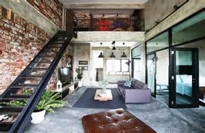 wohnidee wohnzimmer estrich der fußboden im industrial style freshouse
