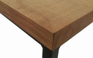Table Basse Longue : table basse industriel en ch ne massif et m tal ~ Teatrodelosmanantiales.com Idées de Décoration