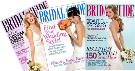 1 Year Subscription To Bridal Guide Magazine For .99