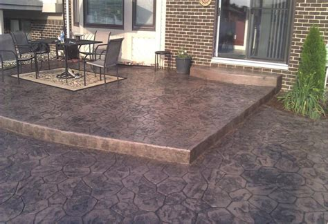 sted concrete patio pros and cons icamblog