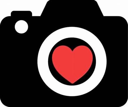 Camera Heart Clipart Phone Clip Clipground Cameras