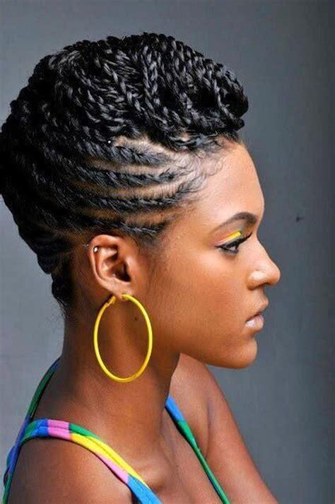 Twist And Braid Hairstyles by Fab Mohawk Beautiful Black Braids