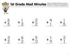 Mad Minutes Multiplication Worksheets Printable  Maths  Pinterest  Multiplication Worksheets
