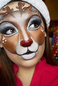 25 Best Ideas About Reindeer Makeup On Pinterest Deer Costume Makeup