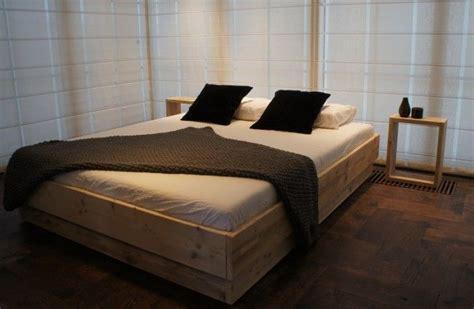bed maken zelf een bed maken steigerhout interieur insider