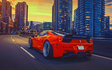 red ferrari background wallpapers hd car wallpapers