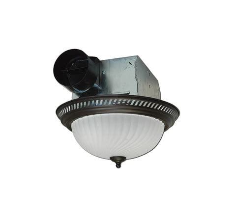 decorative bathroom fan with light air king drlc701 oil rubbed bronze 70 cfm round decorative
