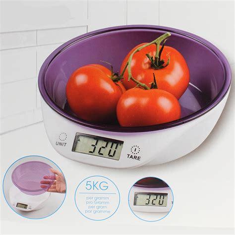 balance de cuisine avec bol balance numérique de cuisine avec bol doseur maison futée