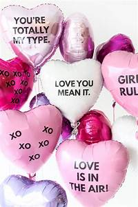 DIY Valentine's Day Balloon Tattoos   Valentine's Day ...  Valentines