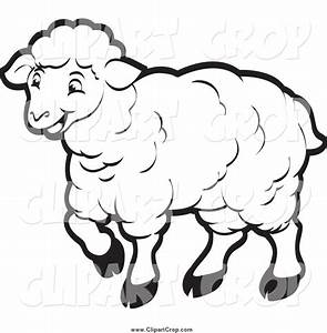clipart black and white sheep - Clipground