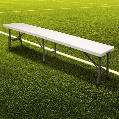 Hartleys Folding Portable Football Bench Sport Subs