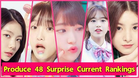 produce  surprise current rankings june  youtube