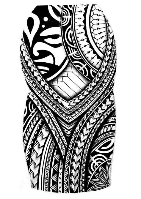 Fancy Polynesian Tattoo Half Sleeve Designs 82 On Cute