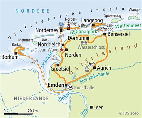 ostfriesland inseln borkum norderney radreise radurlaub