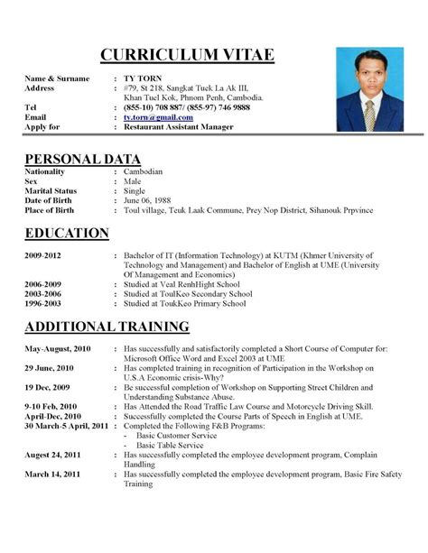 Cv Erstellen by Resume Templates Create Free Creating Cv Professional