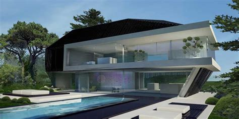 homes built into hillside hillside house german home by 3deluxe in exterior e