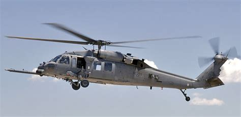Picture Of Sikorsky Hh-60g Pave Hawk Military Helicopter