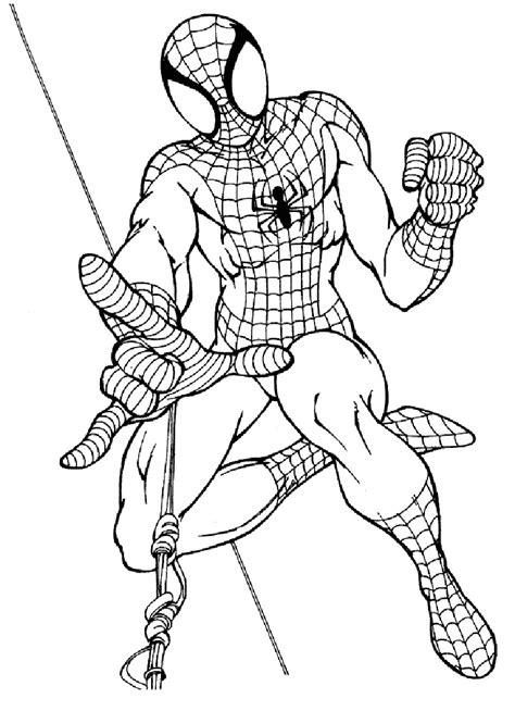 uomo ragno da stampare  colorare  disegni  spiderman