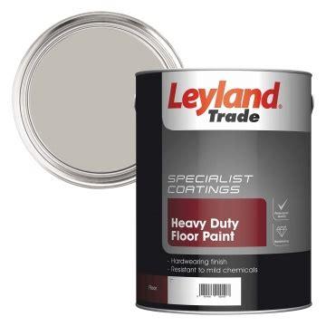 leyland trade heavy duty floor paint nimbus grey ltr selco