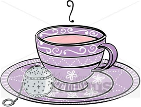 Image result for Tea cup Banner Party Clip Art