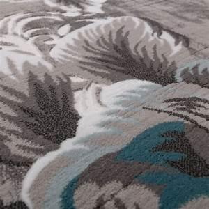 Teppich Türkis Grau : designer teppich edel hoch tief struktur glitzergarn ~ Lateststills.com Haus und Dekorationen