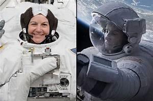 Astronaut gave 'Gravity' advice to Sandra Bullock from ...
