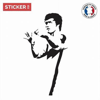 Bruce Lee Sticker Stickers Stickerdeco