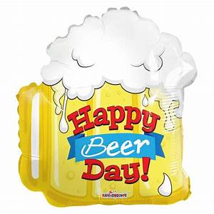 Happy Birthday Beer Shape (18 inch) APAC