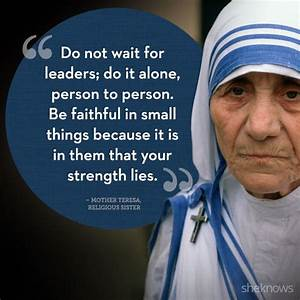Famous Lies Quotes And Sayings By Mother Teresa - Golfian.com